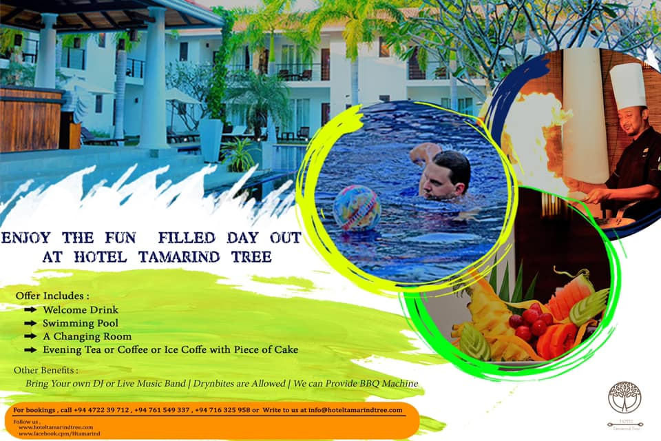 Hotel tamarind tree offer - May 1st to May 31st
